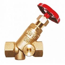 Клапан запорный STROMAX с 2 отверстиями Ду20