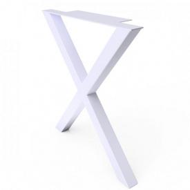 Опора для столу GoodsMetall в стилі Лофт 730х600 мм ОП41
