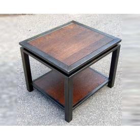 Столик журнальный кофейный GoodsMetall из металла и дерева Лофт Джим