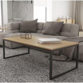 Журнальний кавовий столик GoodsMetall в стилі Лофт 1200х600х420 ЖС464