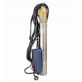 Насос скважинный вихревой VOLKS pumpe 3SKm100 0,75кВт + кабель 15м и пульт