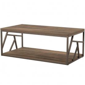 Журнальний кавовий столик GoodsMetall в стилі Лофт 1200х600х400 ЖС164
