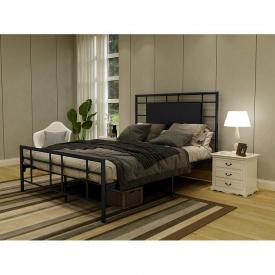 Ліжко GoodsMetall металеве в стилі LOFT 2000х1400х1200 К100