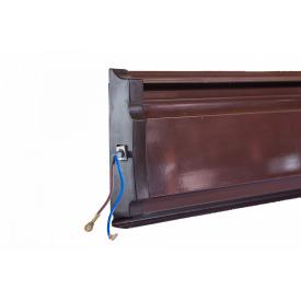 Конвектор плинтусный ТЕРМІЯ ЕВНА-0,18/230 П2 (цб) коричневый