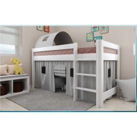 Детская деревянная кровать чердак Адель 80х190