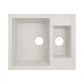 Кухонная мойка с дополнительной чашей Lidz 615x500/200 STO-10 (LIDZSTO10615500200)