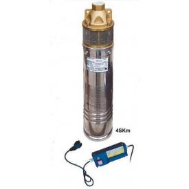 Насос скважинный вихревой VOLKS pumpe 4SKm150 1,1кВт + кабель 15м и пульт