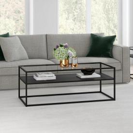 Журнальний кавовий столик GoodsMetall в стилі Лофт 1200х500х450 ЖС119