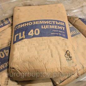 Огнеупорный цемент ГЦ-40