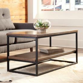 Журнальный кофейный столик GoodsMetall в стиле Лофт 1000х500х450 ЖС154
