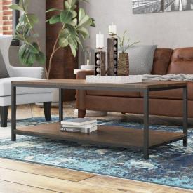 Журнальный кофейный столик GoodsMetall в стиле Лофт 1200х600х450 ЖС 166