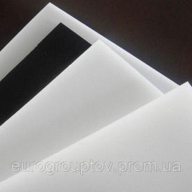 Полиацеталь РОМ-С лист 6,0 мм белый