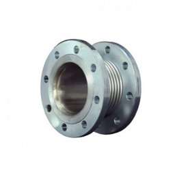 Компенсатор осевой фланцевый стальной с внутренней вставкой KAYSE Ду150 L60 PN16