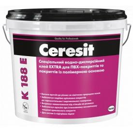 Клей для ПВХ CERESIT К 188 E водно-дисперсионный с полимерной основой