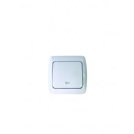 Выключатель дверного автомата наружный ALSU белый