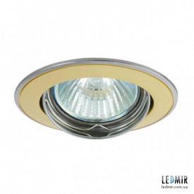 Светодиодный светильник Kanlux BASK CTC-5515-SG/N MR16 Никель / золото