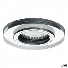 Светодиодный светильник Kanlux SOREN O-BL MR16 прозрачный /хром