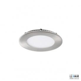 Светодиодный светильник Kanlux ROUNDA Круг 6W-4000K никель