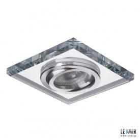 Встраиваемый светильник Kanlux MORTA CT-DTL50-SR GU10 Серебряный