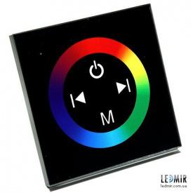 Контроллер RGB Biom 12A-Touch черний встраиваемый