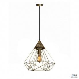 Потолочный подвесной светильник NL 0541 BN бронза
