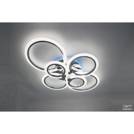 Светодиодная люстра F+Light Smart Light LD3584-6CR+RGB 104W-2700-7000K