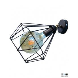 Накладной светильник NL 0537-1 GRID черный
