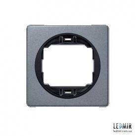 Рамка одноместная Aling-Conel EON E6801S1E