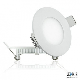 Светодиодный светильник Lezard Круг Downlight 3W-6400K