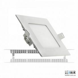 Светодиодный светильник Lezard Квадрат Downlight 6W-6400K