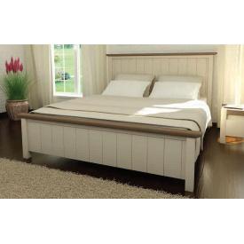 Кровать из массива сосны Калифорния 160х200 Mebigrand белая