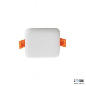 Светодиодный светильник Kanlux AREL Квадрат 6W-3000K белый безрамочный