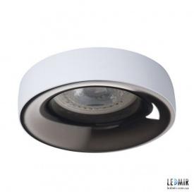 Встраиваемый светильник Kanlux ELNIS L W/A GU10 Белый / Антрацит