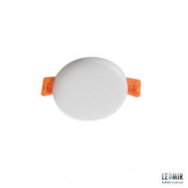 Светодиодный светильник Kanlux AREL Круг 6W-3000K белый безрамочный
