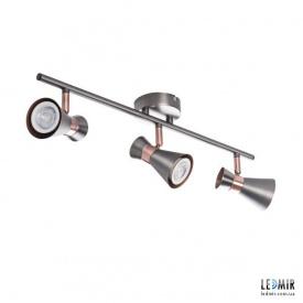 Накладной светильник Kanlux MILENO EL-3I ASR-AN GU10 Серебряный