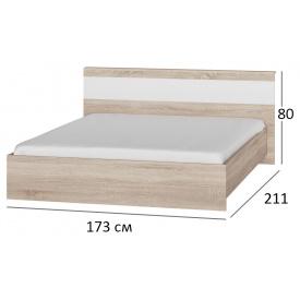Ліжко двоспальне 160х200 Сфера 1600