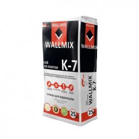 Клей для плитки Wallmix К-7 25 кг