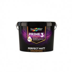 Краска гипоаллергенная акриловая KOMPOZIT PRIME 3 2,7 л