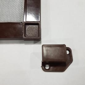 Наружная москитная сетка (на карманах) Коричневая 80, 200