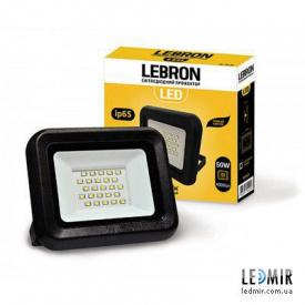 Светодиодный прожектор Lebron 50W-6200K