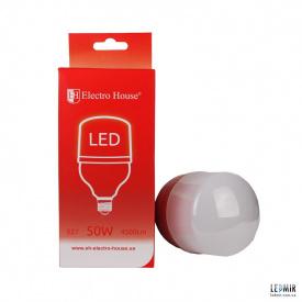 Светодиодная лампа ElectroHouse T120 50W-E27-4100K