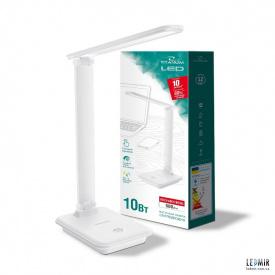 Светодиодная настольная лампа TITANUM 10W-3000-6500K Белая