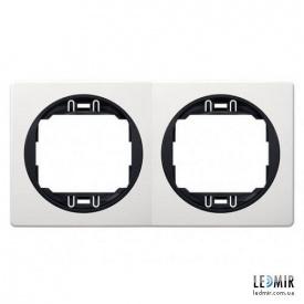 Рамка двухместная Aling-Conel EON E6701,0E