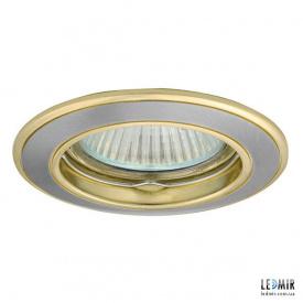 Светодиодный светильник Kanlux BASK CTC-5514-SN/G MR16 Никель / золото