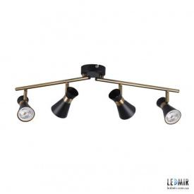 Накладной светильник Kanlux MILENO EL-4I B-AG GU10 Черный