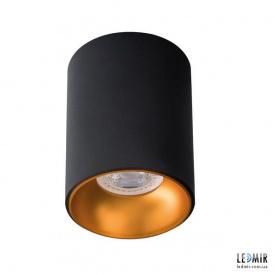 Накладной светильник Kanlux RITI GU10 B/G GU10 Черный