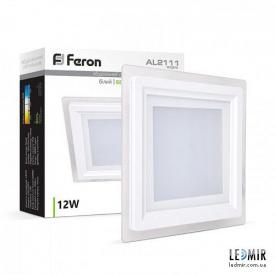 Светодиодная панель Feron AL2111 12W-5000K