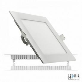 Светодиодный светильник Lezard Квадрат Downlight 12W-4200K