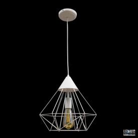 Потолочный подвесной светильник NL 0538W GRID белый