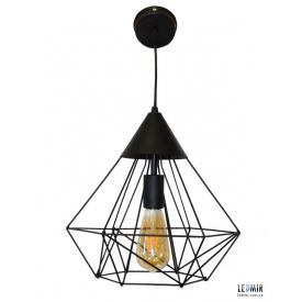 Потолочный подвесной светильник NL 0538 GRID черный